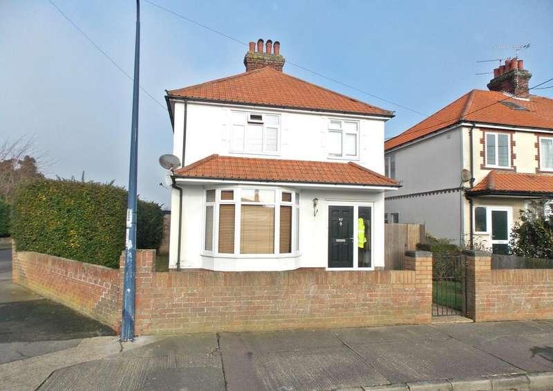 4 Bedrooms Detached House for sale in Looe Road, Felixstowe, IP11