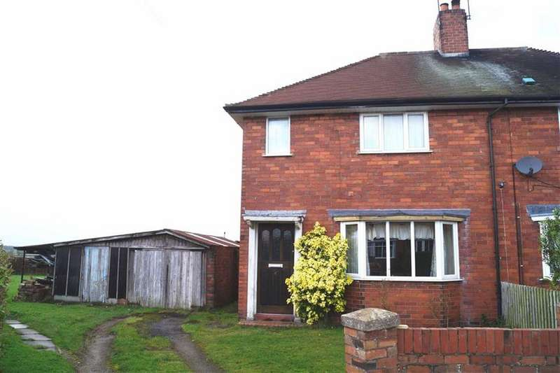 3 Bedrooms Semi Detached House for sale in Moss Fields, Cheswardine, TF9