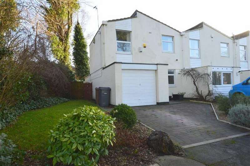 3 Bedrooms Terraced House for sale in Rosemount Close, Oxton, CH43