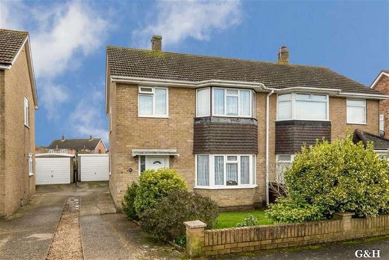 3 Bedrooms Semi Detached House for sale in Tadworth Road, Kennington, Ashford