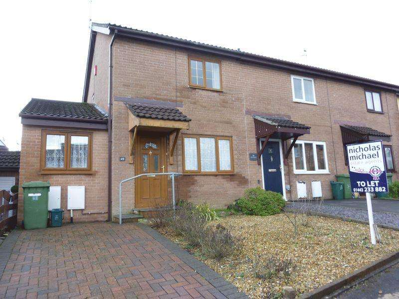 2 Bedrooms End Of Terrace House for rent in The Hollies, Pontyclun, CF72 9BB
