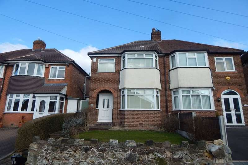 3 Bedrooms Semi Detached House for sale in Glenwood Road, Kings Norton, Birmingham, B38