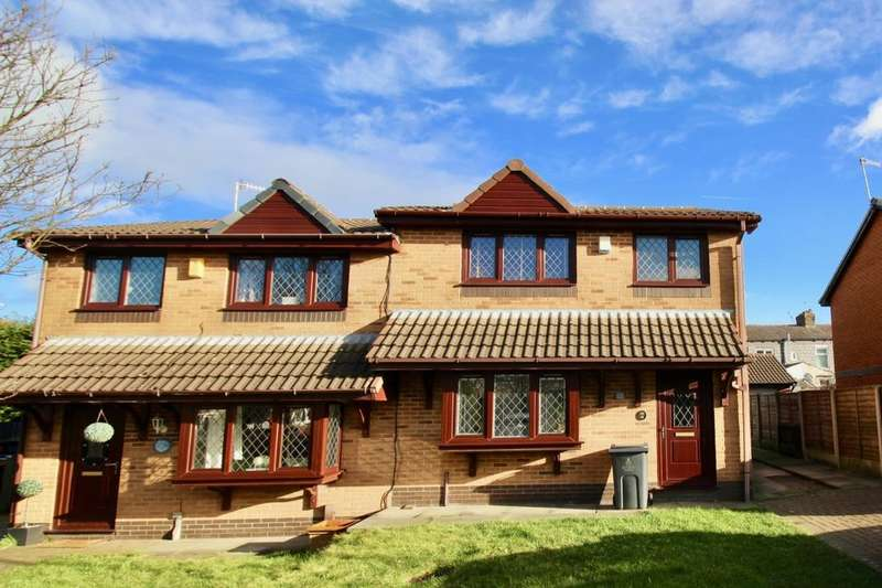 3 Bedrooms Semi Detached House for sale in Heys Court, Blackburn, BB2