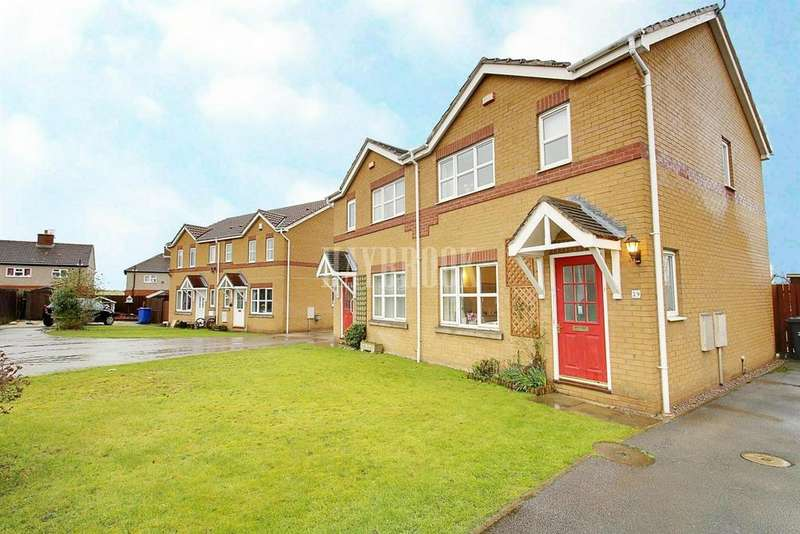 3 Bedrooms Semi Detached House for sale in Storrs Wood View, Cudworth