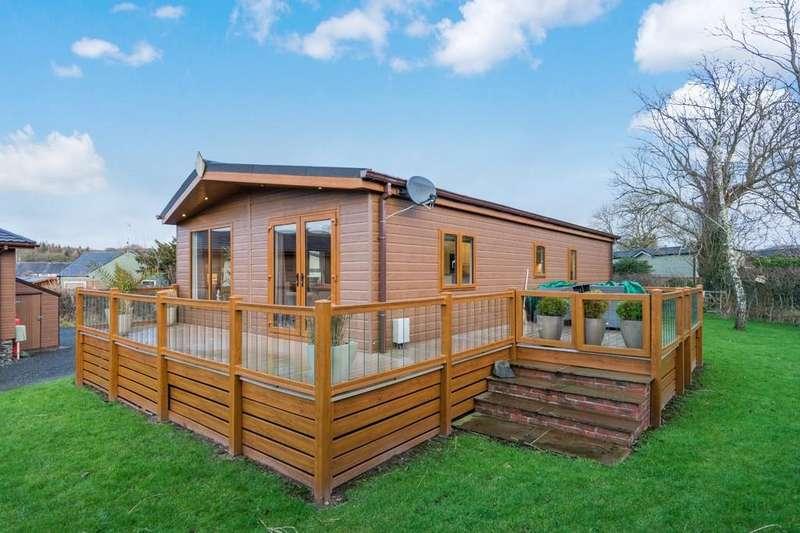 2 Bedrooms Lodge Character Property for sale in Lodge 39, Cartmel Lodge Park, Cartmel, Grange-over-Sands, Cumbria, LA11 6PN