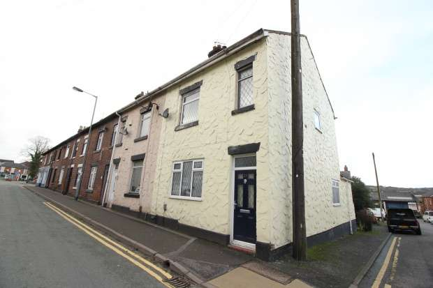 2 Bedrooms Terraced House for sale in Congleton Road, Stoke On Trent, Staffordshire, ST8 6DY