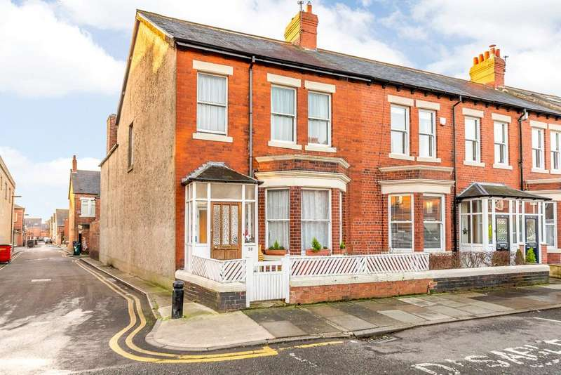 4 Bedrooms Terraced House for sale in Cartington Terrace, Heaton, Newcastle Upon Tyne, Tyne Wear