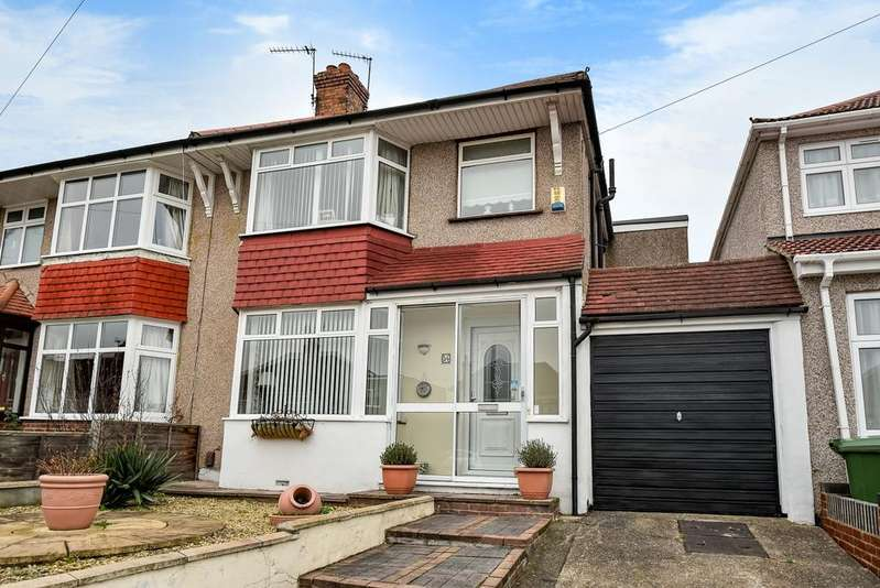 3 Bedrooms Semi Detached House for sale in Pembury Road Bexleyheath DA7