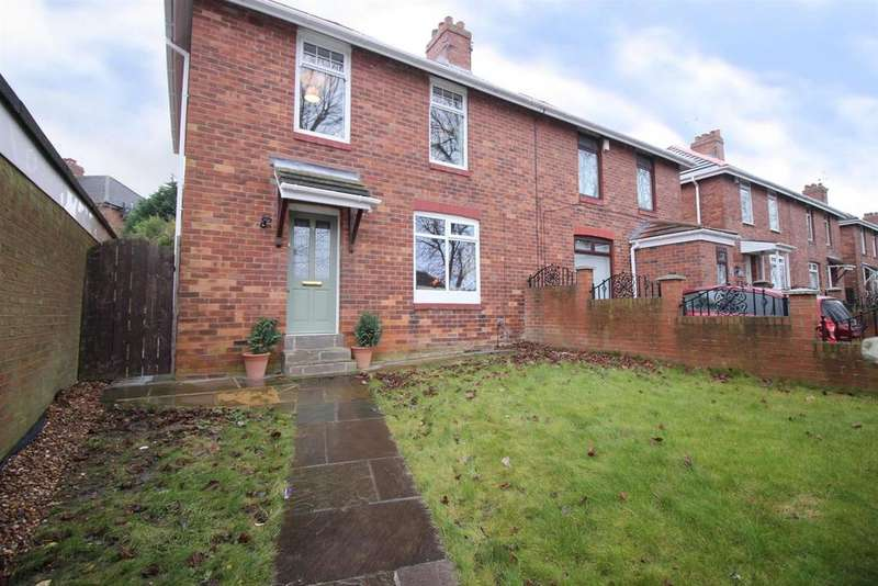 3 Bedrooms Semi Detached House for sale in Brettanby Road, Gateshead