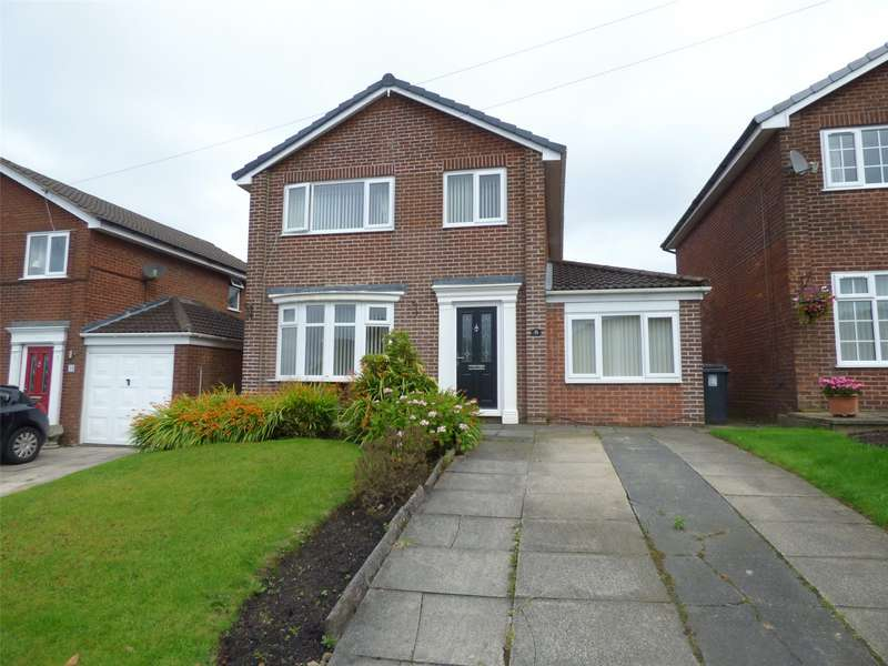 4 Bedrooms Detached House for sale in Whinberry Way, Moorside, Oldham, Greater Manchester, OL4