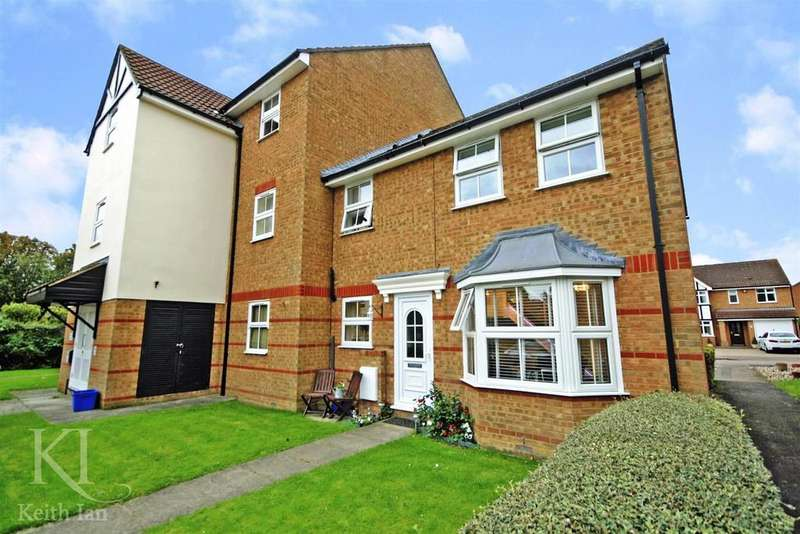 2 Bedrooms End Of Terrace House for sale in Lee Close, Stanstead Abbotts