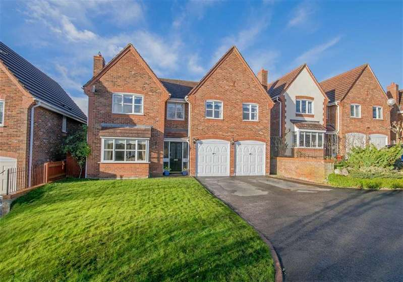 5 Bedrooms Detached House for sale in Godre'r Waen, Flint Mountain, Flint