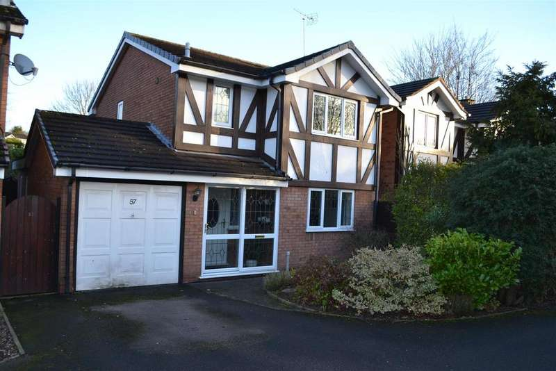 3 Bedrooms Detached House for sale in Salisbury Drive, Cannock