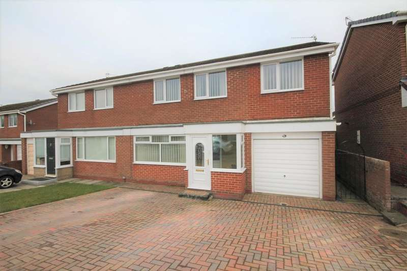4 Bedrooms Semi Detached House for sale in Linburn Drive, Bishop Auckland