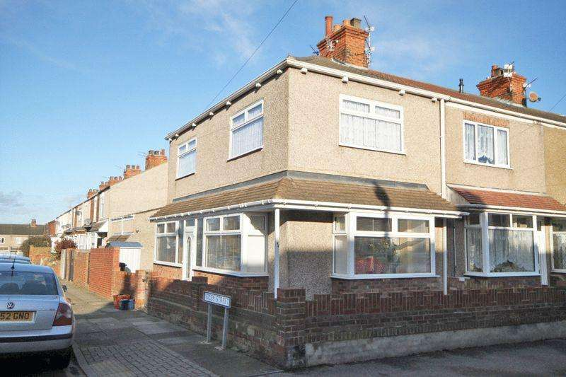 2 Bedrooms End Of Terrace House for sale in BENTLEY STREET, CLEETHORPES