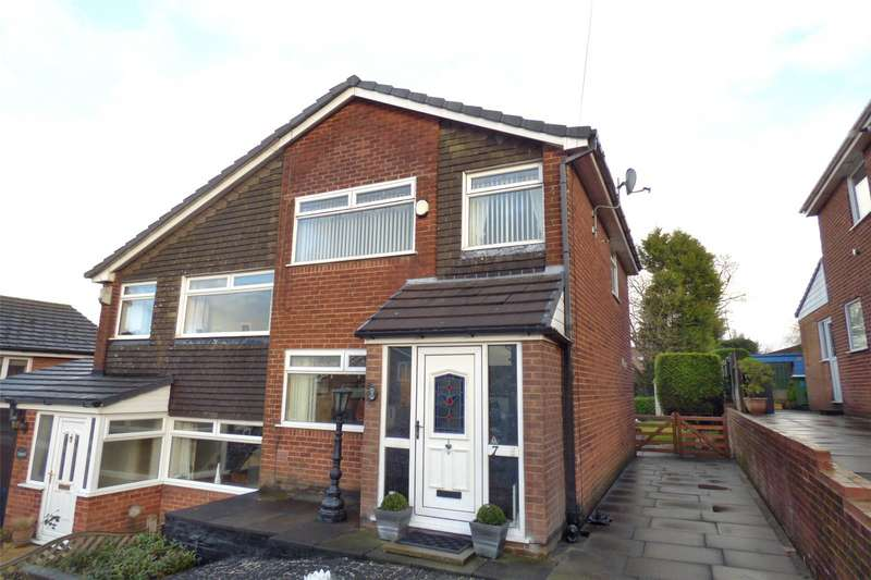 3 Bedrooms Semi Detached House for sale in Instow Close, Chadderton, Oldham, Greater Manchester, OL9