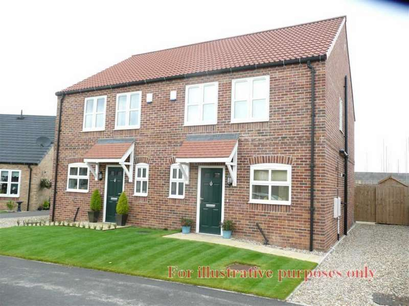 3 Bedrooms Semi Detached House for rent in Reynards Avenue, Driffield, East Yorkshire