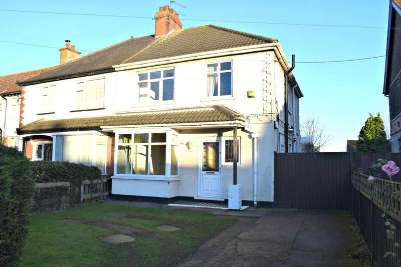 3 Bedrooms Semi Detached House for sale in Ashby Road, Scunthorpe, North Lincolnshire, DN16