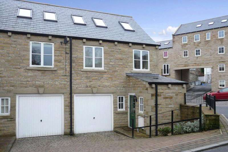 3 Bedrooms Semi Detached House for sale in Woodcote Fold, Goose Eye, Keighley, West Yorkshire