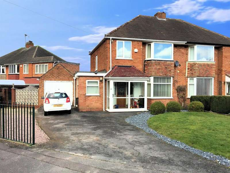 3 Bedrooms Semi Detached House for sale in Windsor Drive, Solihull, B92 8HS