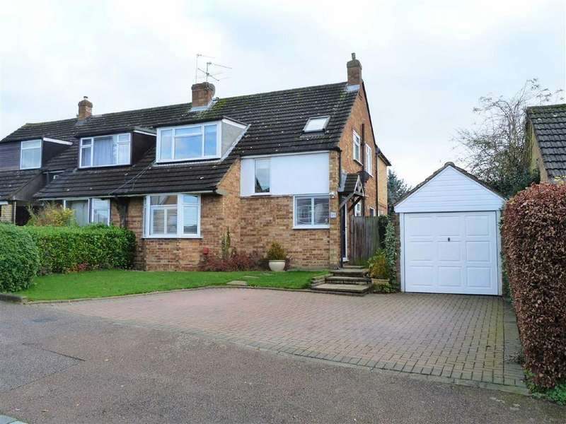 4 Bedrooms Semi Detached House for sale in Warren Way, Digswell, Welwyn