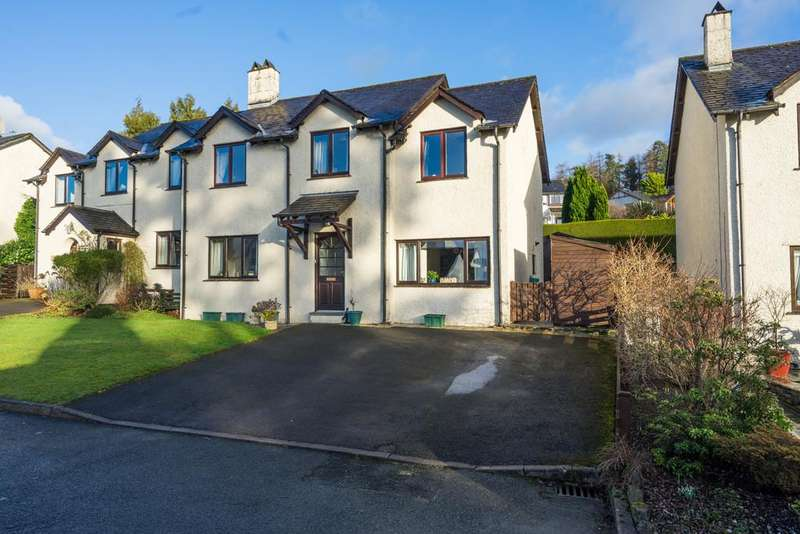 4 Bedrooms Semi Detached House for sale in 14 Brackenfield, Bowness On Windermere, Cumbria, LA23 3HL