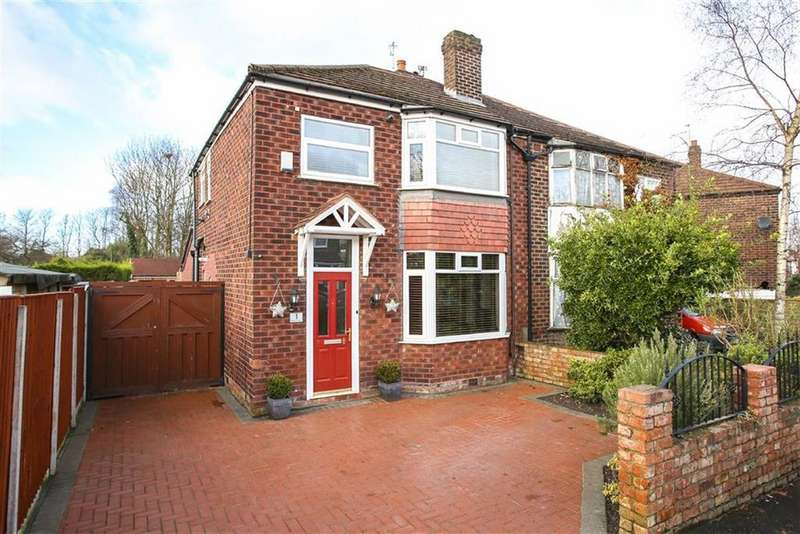 3 Bedrooms Semi Detached House for sale in Melling Avenue, Heaton Chapel
