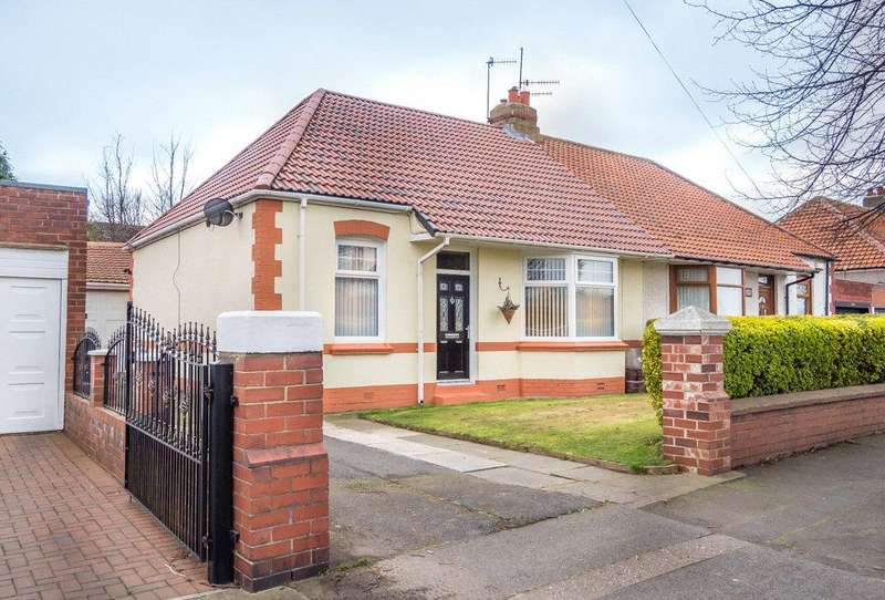 3 Bedrooms Semi Detached Bungalow for sale in Heworth
