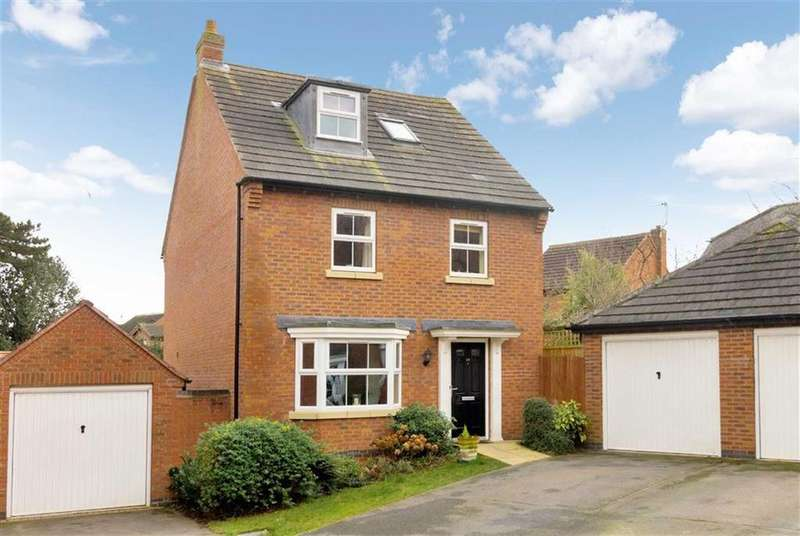 4 Bedrooms Detached House for sale in Walnut Gardens, East Leake, LE12