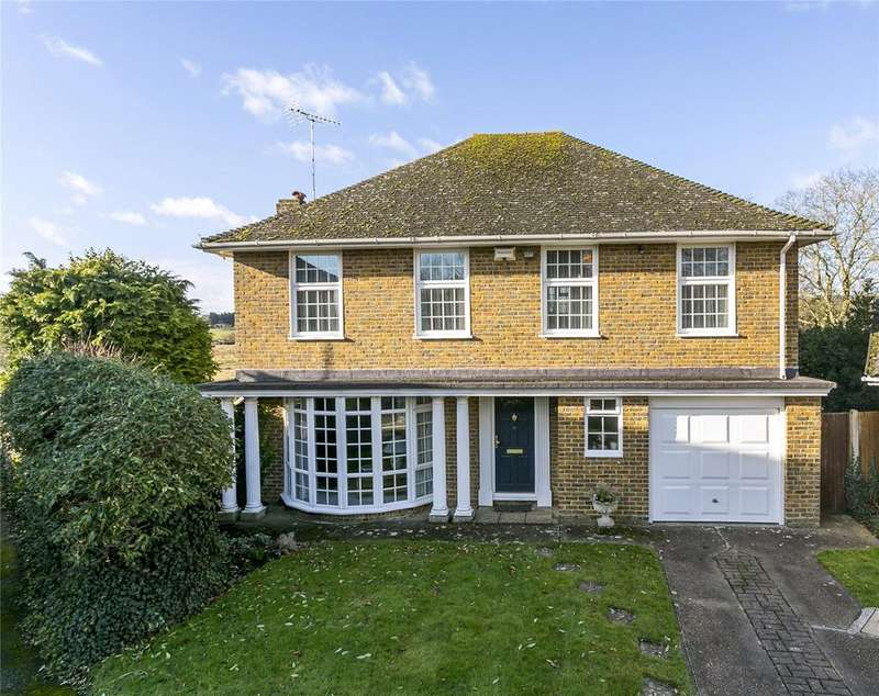 4 Bedrooms Detached House for sale in Warham Road, Otford, Sevenoaks, Kent