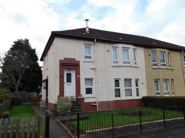 2 Bedrooms Flat for sale in 115 Boreland Drive, Knightswood, Glasgow, G13 3DY