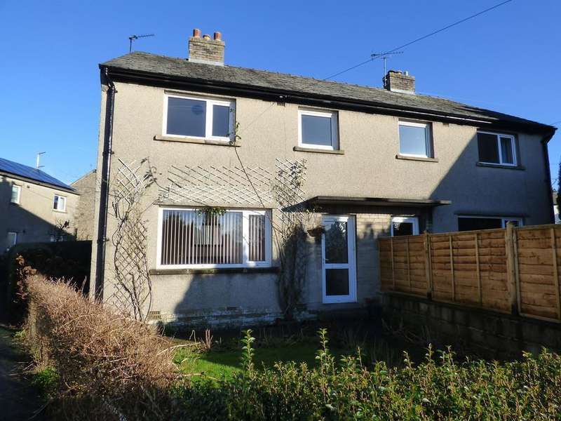3 Bedrooms Semi Detached House for sale in 38 Mill Close, Settle