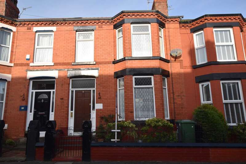 3 Bedrooms Terraced House for sale in Waring Avenue, Tranmere