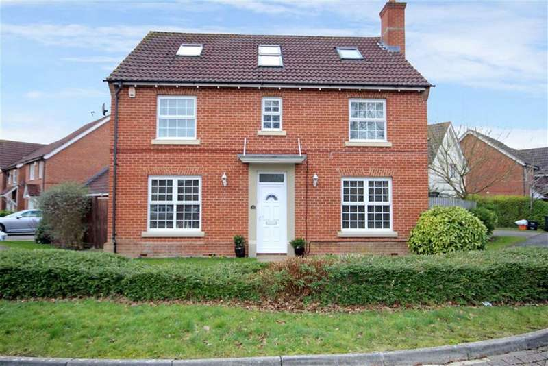 5 Bedrooms Detached House for sale in Wynwards Road, Abbey Meads, Wiltshire