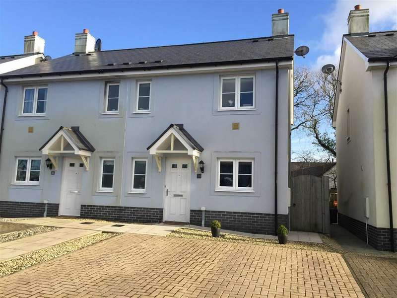 3 Bedrooms Semi Detached House for sale in Rosemary Close, Crundale, Haverfordwest