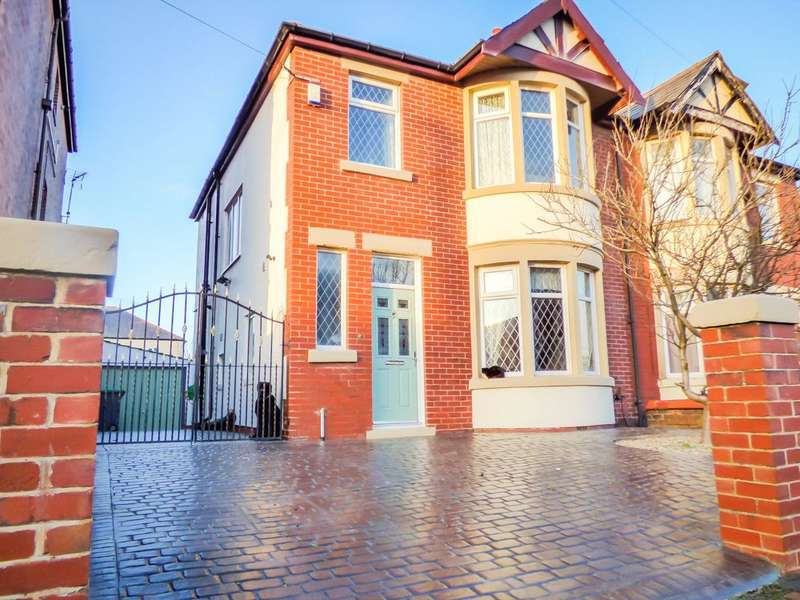 3 Bedrooms Semi Detached House for sale in Burlington Road, South Shore, Blackpool