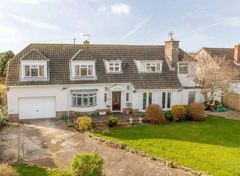 4 Bedrooms Detached House for sale in Cathryn House, 7 Fonmon Road, Rhoose, Barry, CF62