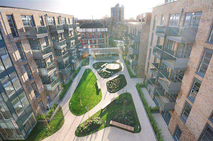 1 Bedroom Flat for sale in Alwen Court, 6 Pages Walk, Bermondsey, London, SE1