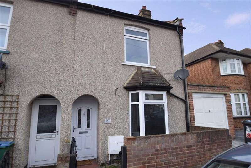 2 Bedrooms End Of Terrace House for sale in Sandringham Road, North Watford, Herts