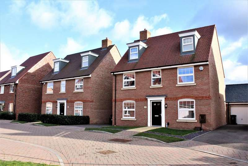 5 Bedrooms Detached House for sale in Alder Green, Stotfold, Hitchin, SG5