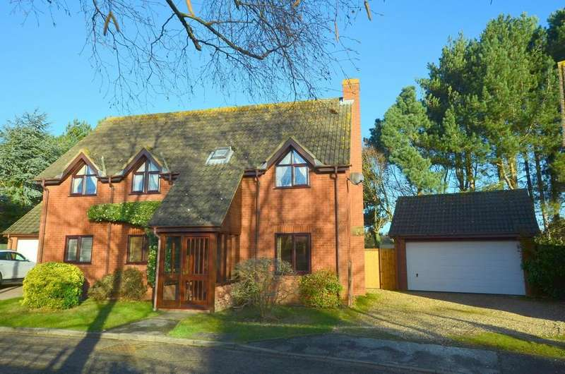 4 Bedrooms Detached House for sale in Parkers Place, Martlesham Heath, IP5 3UX