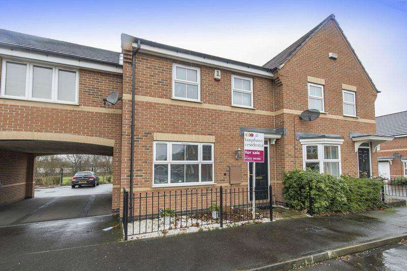 3 Bedrooms Terraced House for sale in Damson Grove, Alvaston,, Derby