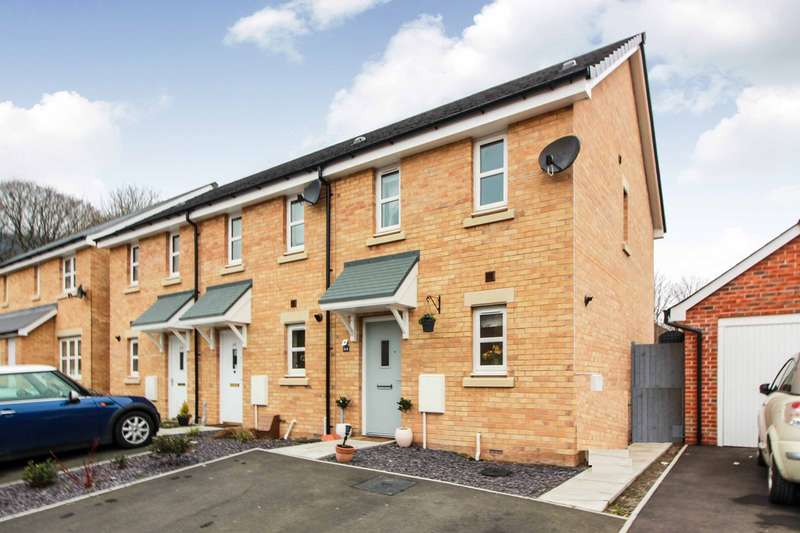 2 Bedrooms End Of Terrace House for sale in Ffordd Sain Ffwyst, Llanfoist, Abergavenny, NP7