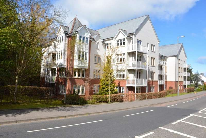 2 Bedrooms Flat for sale in Whitecraigs Court, Giffnock, Glasgow, G46