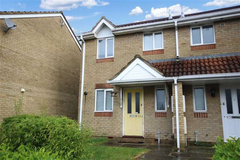 2 Bedrooms End Of Terrace House for sale in Barnum Court, Rodbourne, Swindon