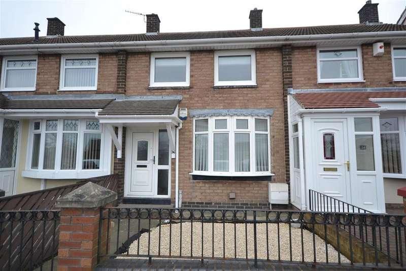 2 Bedrooms Terraced House for rent in Brentford Avenue, Sunderland