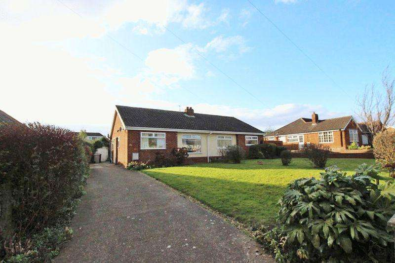 2 Bedrooms Semi Detached Bungalow for sale in LOUTH ROAD, HOLTON LE CLAY