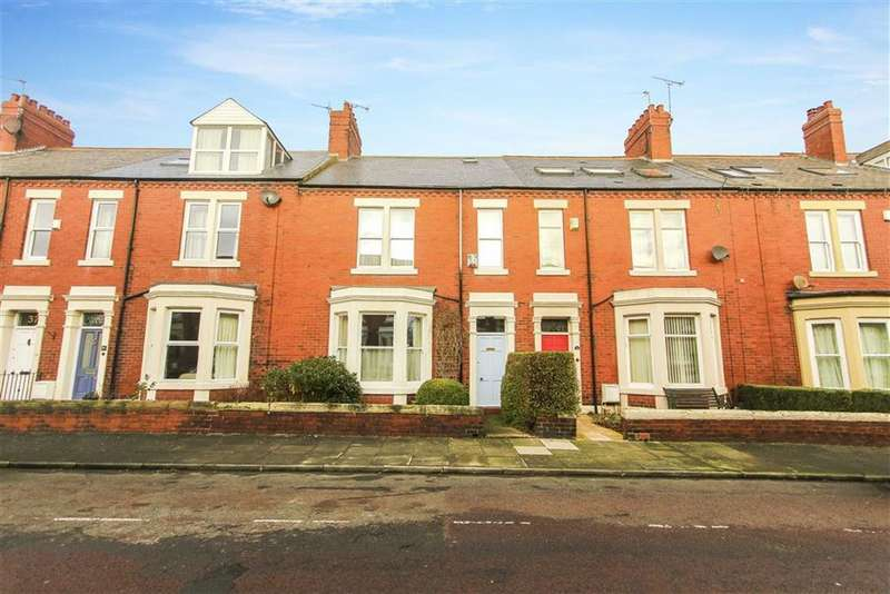 4 Bedrooms Terraced House for sale in Albury Park Road, Tynemouth, Tyne And Wear