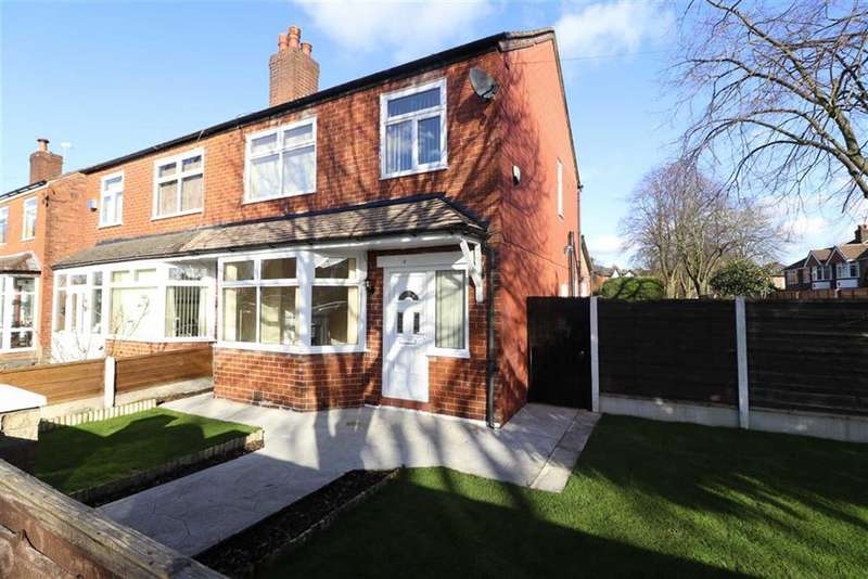 3 Bedrooms Semi Detached House for sale in Maple Avenue, Stretford, Trafford, M32