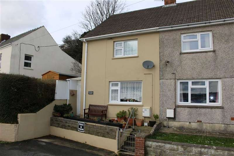 2 Bedrooms Semi Detached House for sale in Church Road, Llanstadwell, Milford Haven